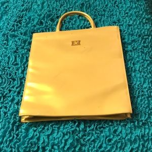 Escada tote gold promotional value
